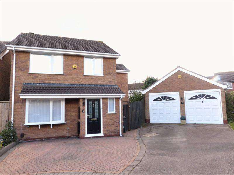 4 Bedrooms Detached House for sale in Hanwell Close, Sutton Coldfield