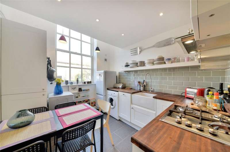 2 Bedrooms Flat for sale in Dalgarno Gardens, Ladbroke Grove, London, W10