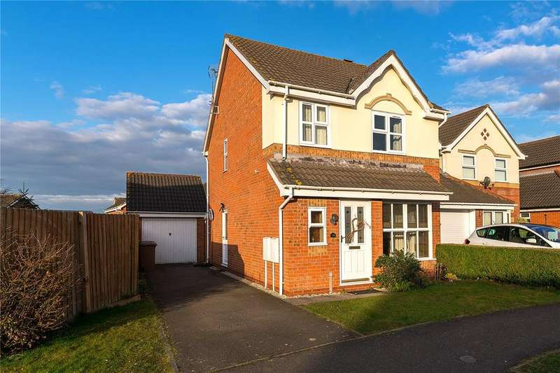 3 Bedrooms Detached House for sale in Rookery Avenue, Sleaford, Lincolnshire, NG34