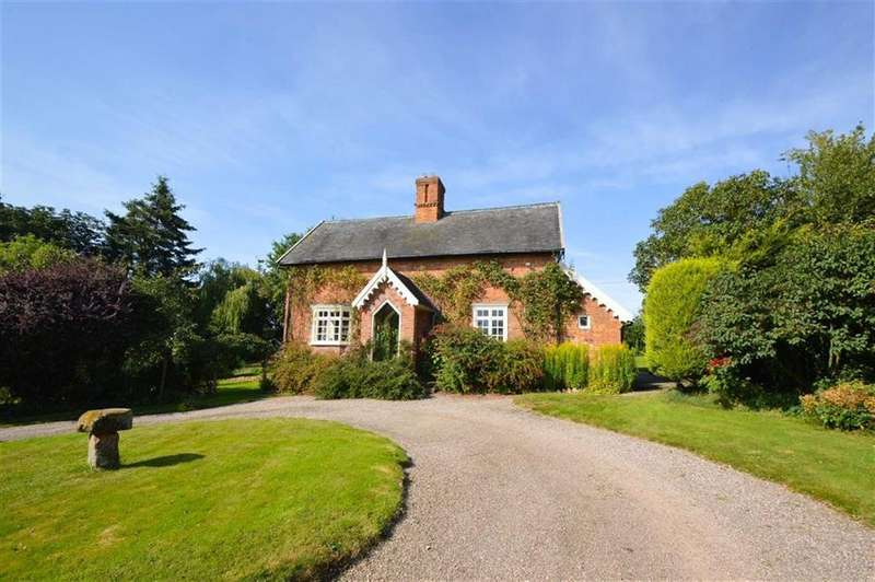 3 Bedrooms Detached House for rent in Walford Heath, Shrewsbury