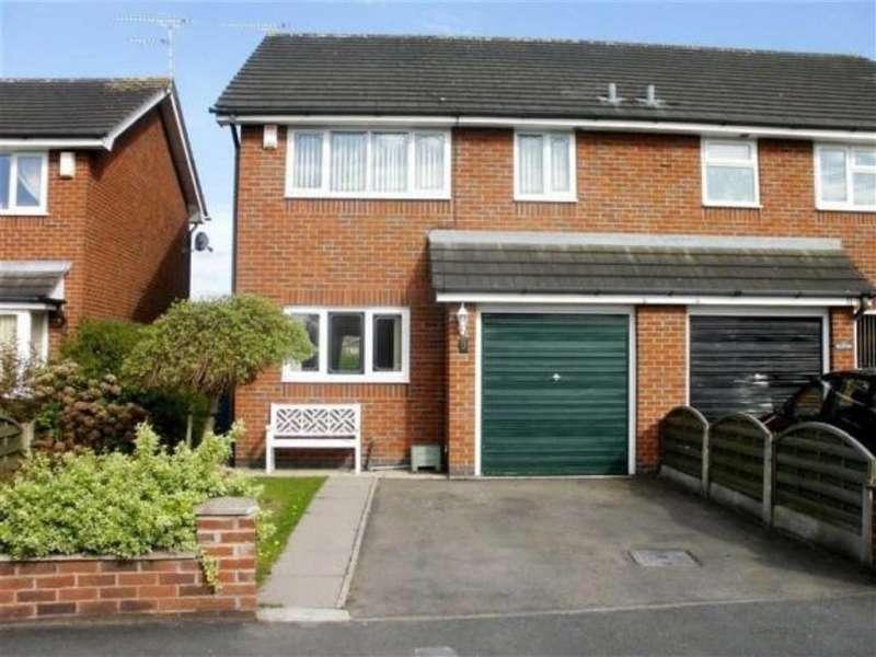 3 Bedrooms Semi Detached House for sale in Sandhurst Avenue, Wistaston, Crewe