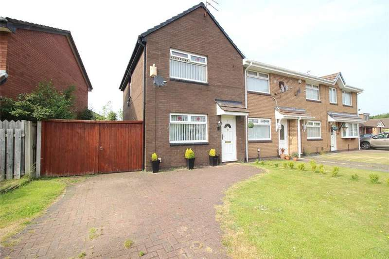 3 Bedrooms Semi Detached House for rent in Butterwick Drive, Liverpool, Merseyside, L12
