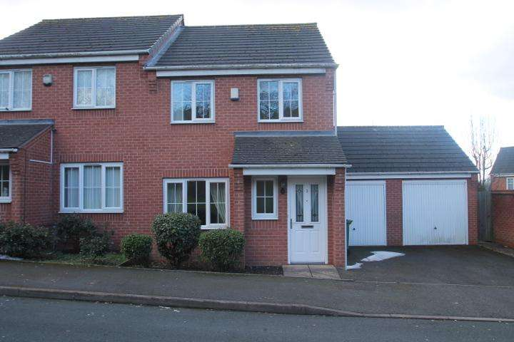 3 Bedrooms Semi Detached House for sale in New Crown Street, Dudley, DY1