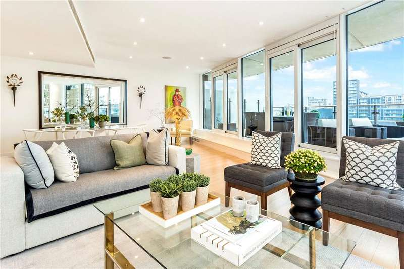 3 Bedrooms Flat for sale in Kingfisher House, Battersea Reach, Wandsworth, London, SW18