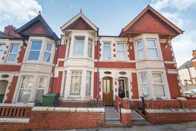 3 Bedrooms Terraced House for sale in Lisvane Street, Cardiff