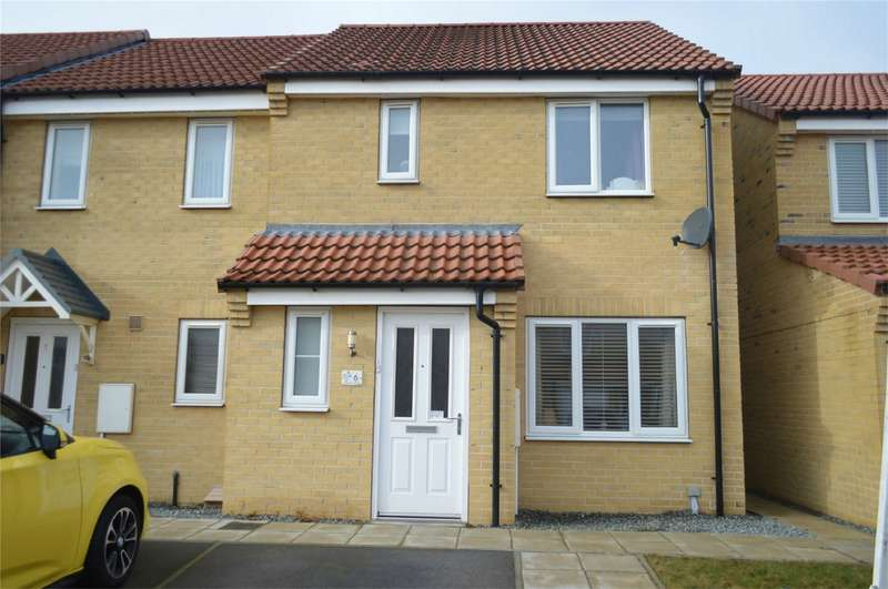 3 Bedrooms Detached House for sale in Avocet Close, HORNSEA, East Riding of Yorkshire