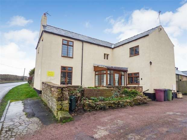 4 Bedrooms Detached House for sale in Park Lane, Shirland, Alfreton, Derbyshire