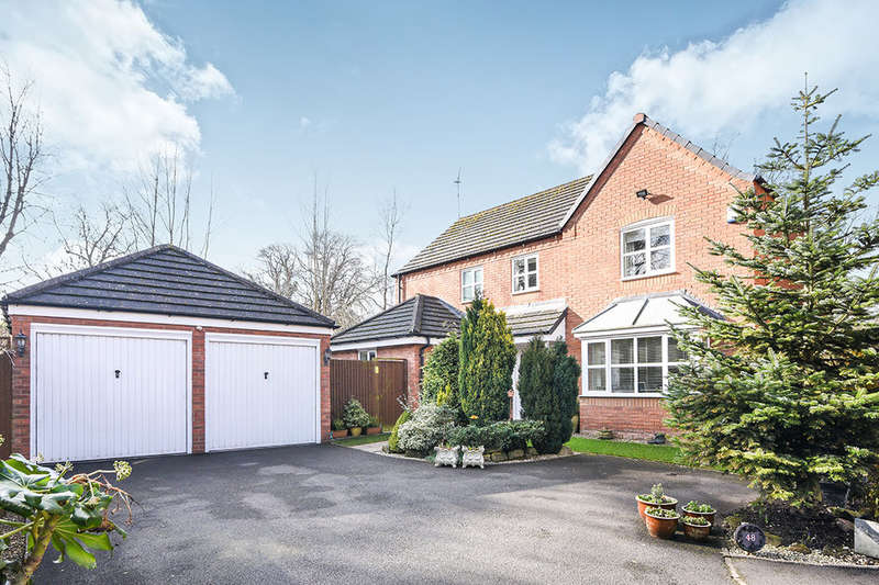 4 Bedrooms Detached House for sale in Amphlett Way, Wychbold, Droitwich, WR9
