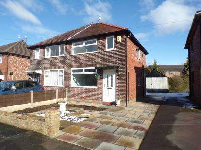 2 Bedrooms Semi Detached House for sale in Annable Road, Bredbury, Stockport, Greater Manchester