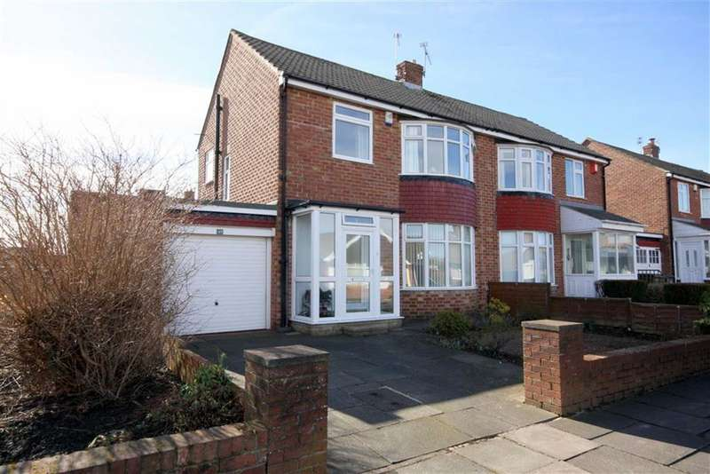3 Bedrooms Semi Detached House for sale in Hampton Road, Marden Farm, Tyne And Wear, NE30