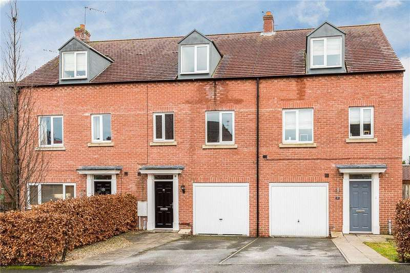 3 Bedrooms Terraced House for sale in Sterling Chase, Knaresborough, North Yorkshire
