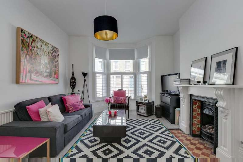 4 Bedrooms Maisonette Flat for sale in Halford Road, Fulham