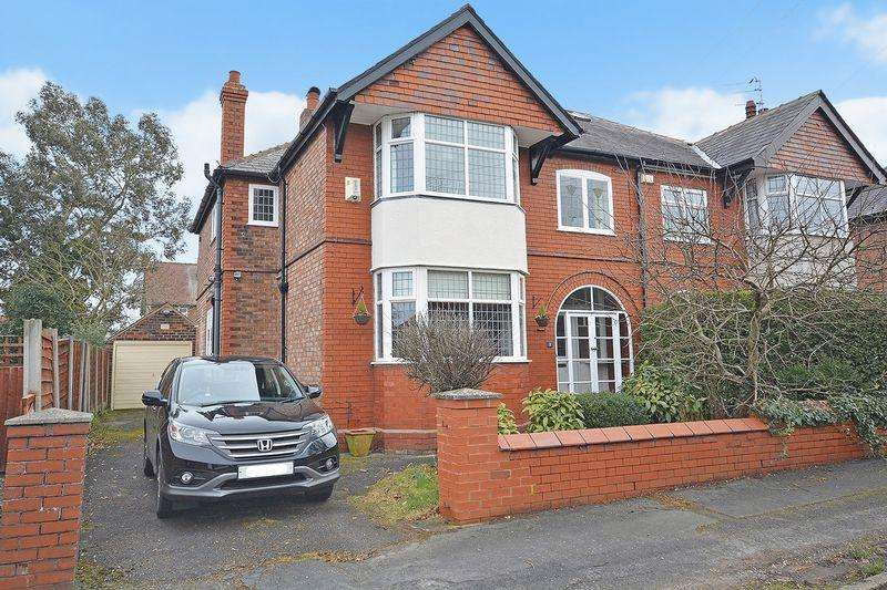 4 Bedrooms Semi Detached House for sale in Marlfield Road, Grappenhall, Warrington