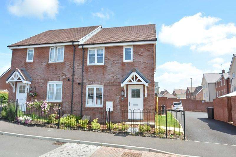 3 Bedrooms Semi Detached House for sale in Olympic Park Road, Andover