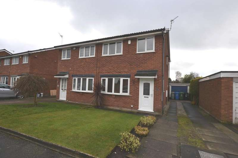 3 Bedrooms Semi Detached House for sale in Coltsfoot Drive, Broadheath, Altrincham WA14