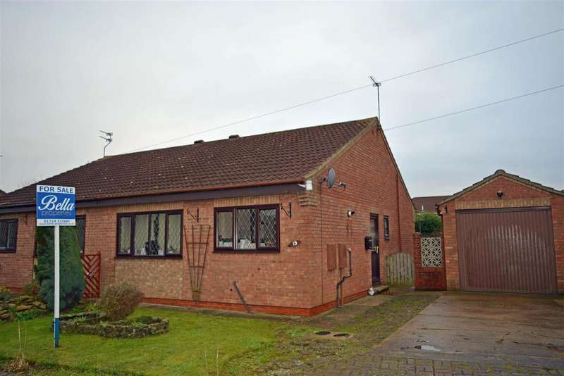 2 Bedrooms Semi Detached House for sale in Witham Drive, Burton-Upon-Stather, Scunthorpe