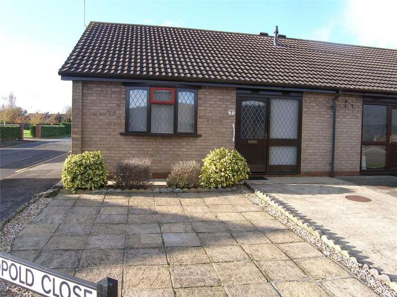 1 Bedroom Semi Detached Bungalow for rent in Leopold Close, Scunthorpe, Lincolnshire, DN16