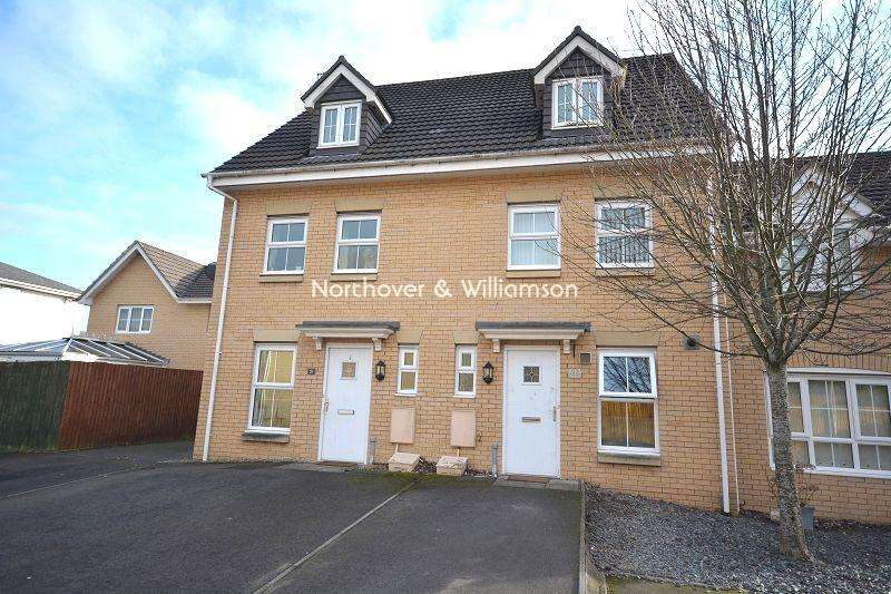 3 Bedrooms Town House for sale in Ffordd Brynhyfryd , Old St. Mellons, Cardiff, Cardiff. CF3