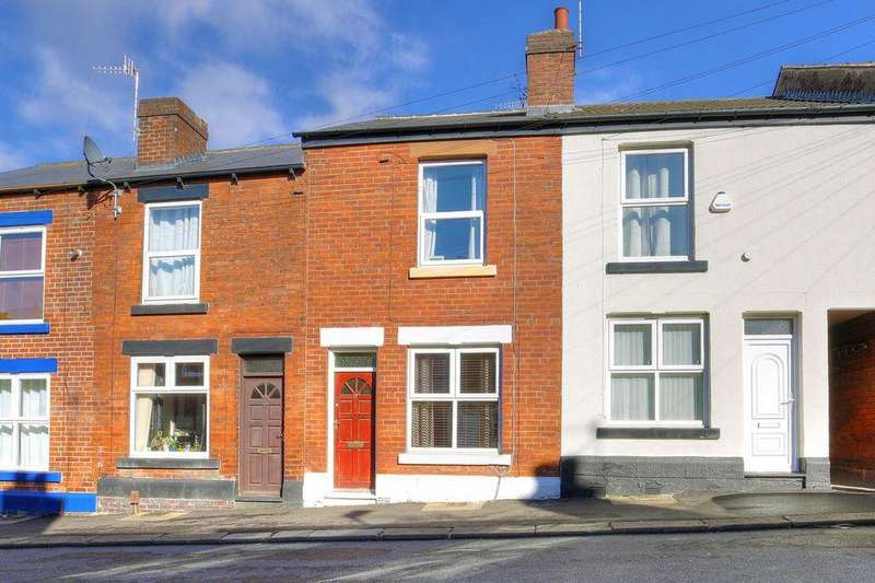 2 Bedrooms Terraced House for sale in Dinnington Road, Woodseats, Sheffield S8