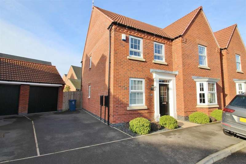 4 Bedrooms Detached House for sale in Dakota Road, Newton, Nottingham