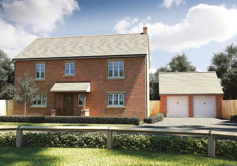 4 Bedrooms Detached House for sale in Plot 17 Maybush Fields
