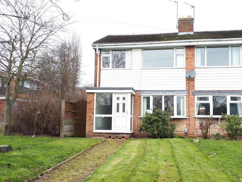 3 Bedrooms Semi Detached House for sale in Cocketts Nook, Rugeley