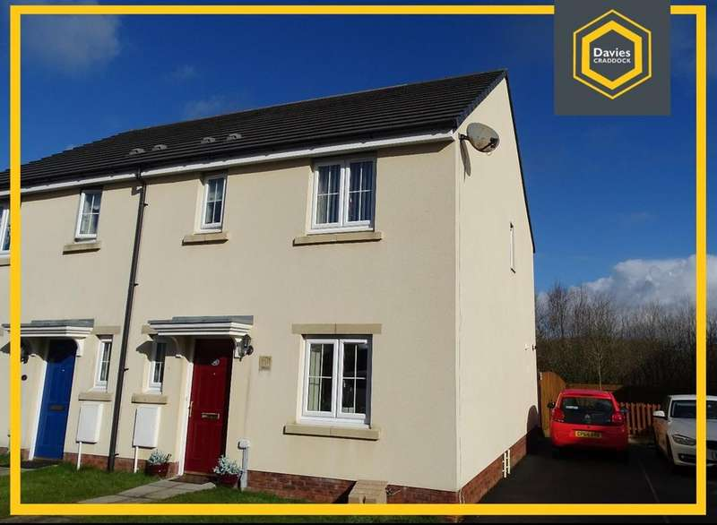 3 Bedrooms Semi Detached House for sale in Heol Waunhir, Carway, Kidwelly, SA17
