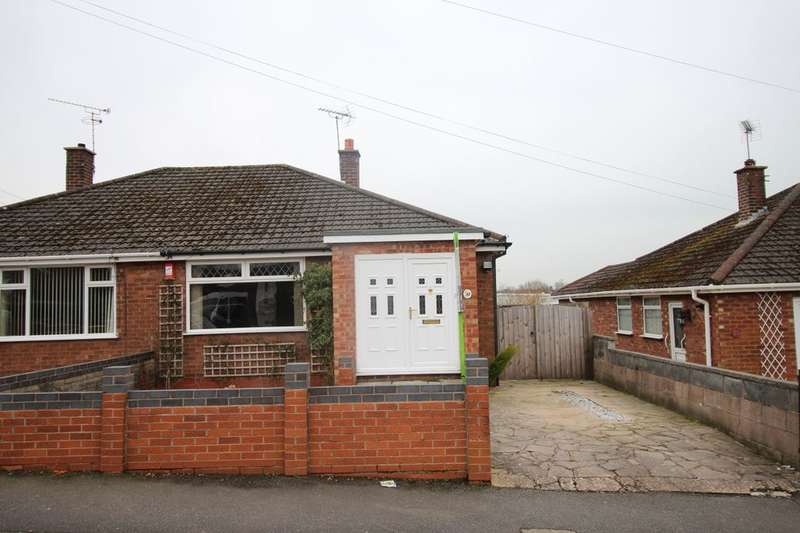 2 Bedrooms Semi Detached Bungalow for sale in Westbourne Avenue, Crewe, CW1