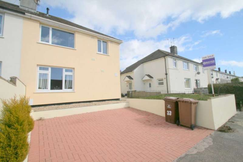 2 Bedrooms Flat for sale in Macaulay Crescent, Manadon