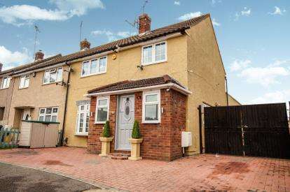 3 Bedrooms End Of Terrace House for sale in Laindon, Essex