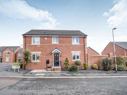 4 Bedrooms Detached House for sale in Wrigley Avenue, Pendlebury, Swinton, Manchester