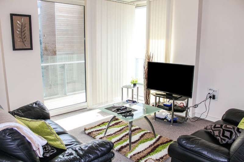 2 Bedrooms Flat for sale in Spectrum, Block 5, Blackfriars Road, Salford
