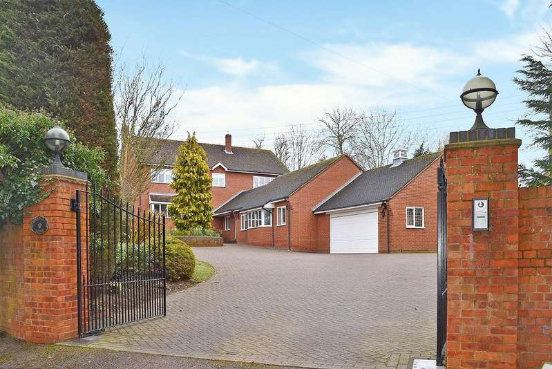 4 Bedrooms Detached House for sale in Soulbury Road, Linslade
