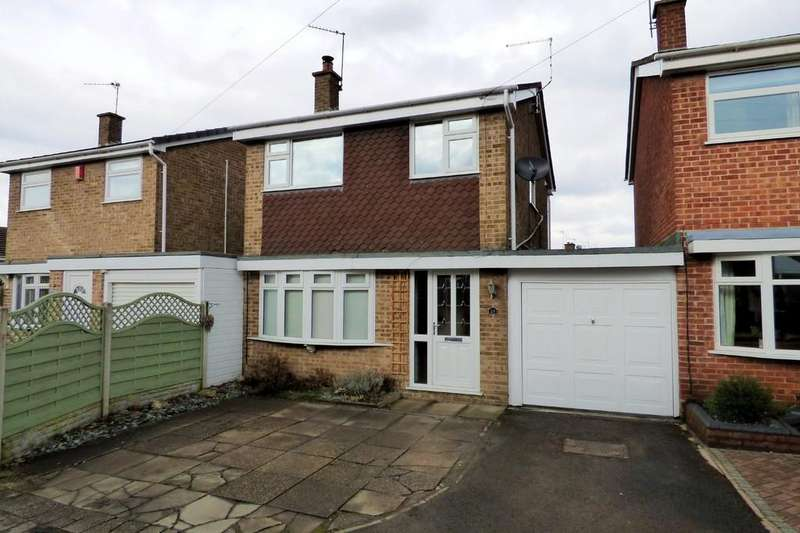 3 Bedrooms Link Detached House for sale in Toulmin Drive, Swadlincote