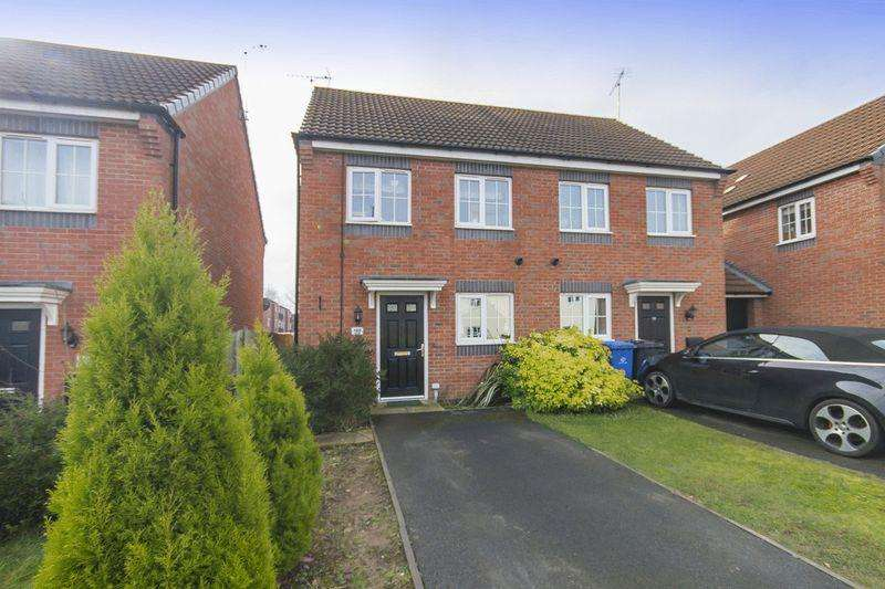 2 Bedrooms Semi Detached House for sale in Girton Way, Mickleover