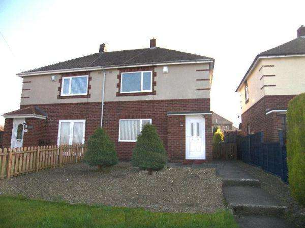 2 Bedrooms Semi Detached House for rent in North Ridge, Bedlington, Two Bedroom Semi Detached House