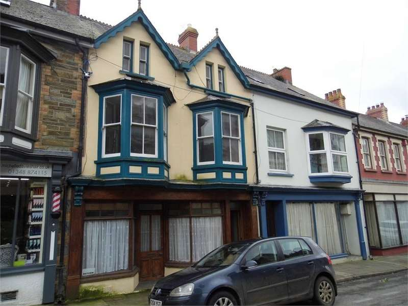 5 Bedrooms Terraced House for sale in Bay View, Main Street, Goodwick, Pembrokeshire
