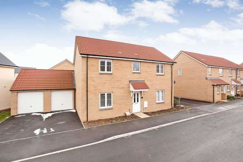 4 Bedrooms Property for sale in Esperia Drive, Stockmoor, Bridgwater
