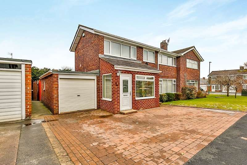 3 Bedrooms Semi Detached House for sale in Hilda Park, Chester Le Street, DH2