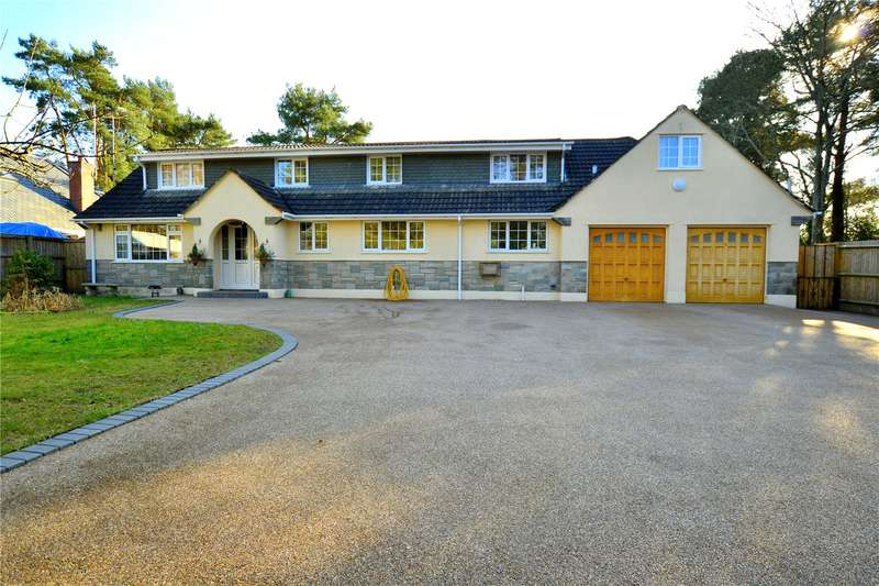 5 Bedrooms Detached House for sale in Ashley Drive West, Ashley Heath, Ringwood, BH24