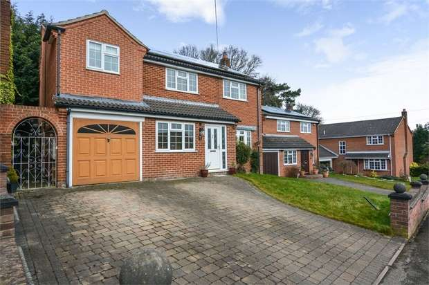 5 Bedrooms Detached House for sale in Throstle Nest Way, Brailsford, Ashbourne, Derbyshire