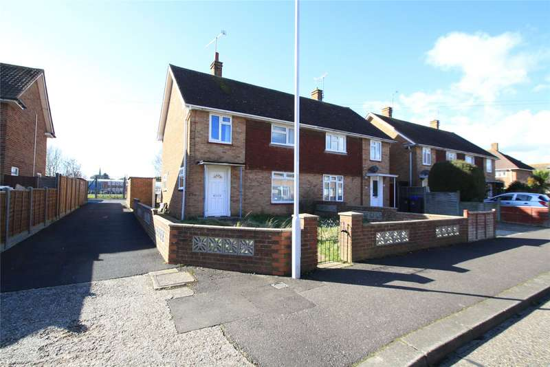 3 Bedrooms Semi Detached House for sale in Melbourne Avenue, Goring-By-Sea, Worthing, BN12