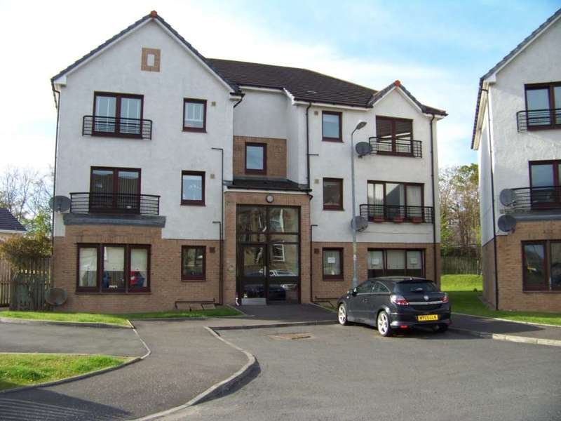 2 Bedrooms Flat for rent in Edward Place, Stepps