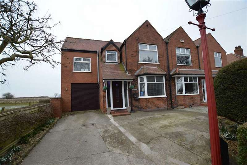 3 Bedrooms Semi Detached House for sale in Lambwath Lane, New Ellerby, East Yorkshire