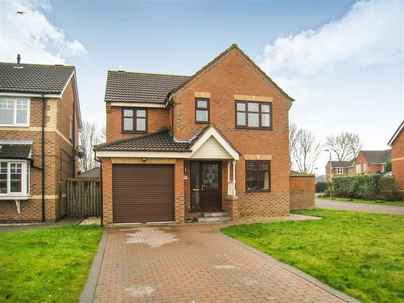 4 Bedrooms Detached House for sale in Cranberry Way, Hull