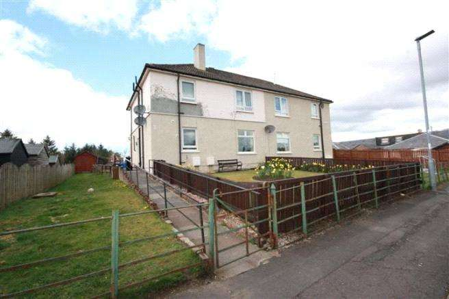 2 Bedrooms Flat for sale in 8 Hopes Avenue, Dalmellington, Ayr, East Ayrshire, KA6