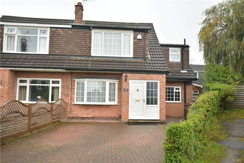 4 Bedrooms Semi Detached House for sale in Primley Park Drive, Alwoodley, Leeds