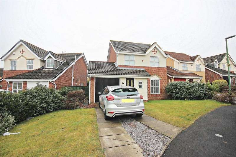 3 Bedrooms Detached House for sale in Heathfield, Chester Le Street