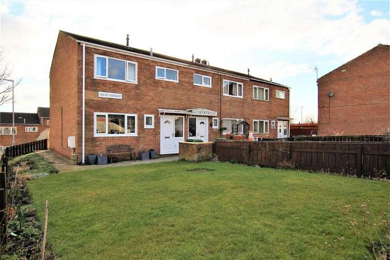 3 Bedrooms Terraced House for sale in Mount Pleasant, Stillington, Stockton-On-Tees