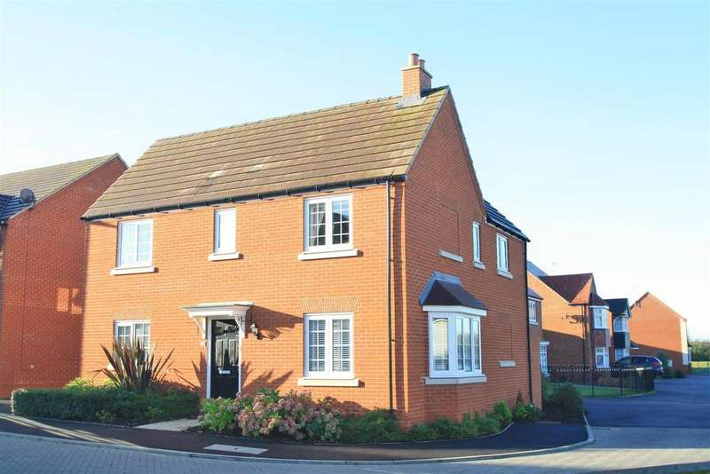 4 Bedrooms Detached House for sale in Harris Close, Bletchley, Milton Keynes